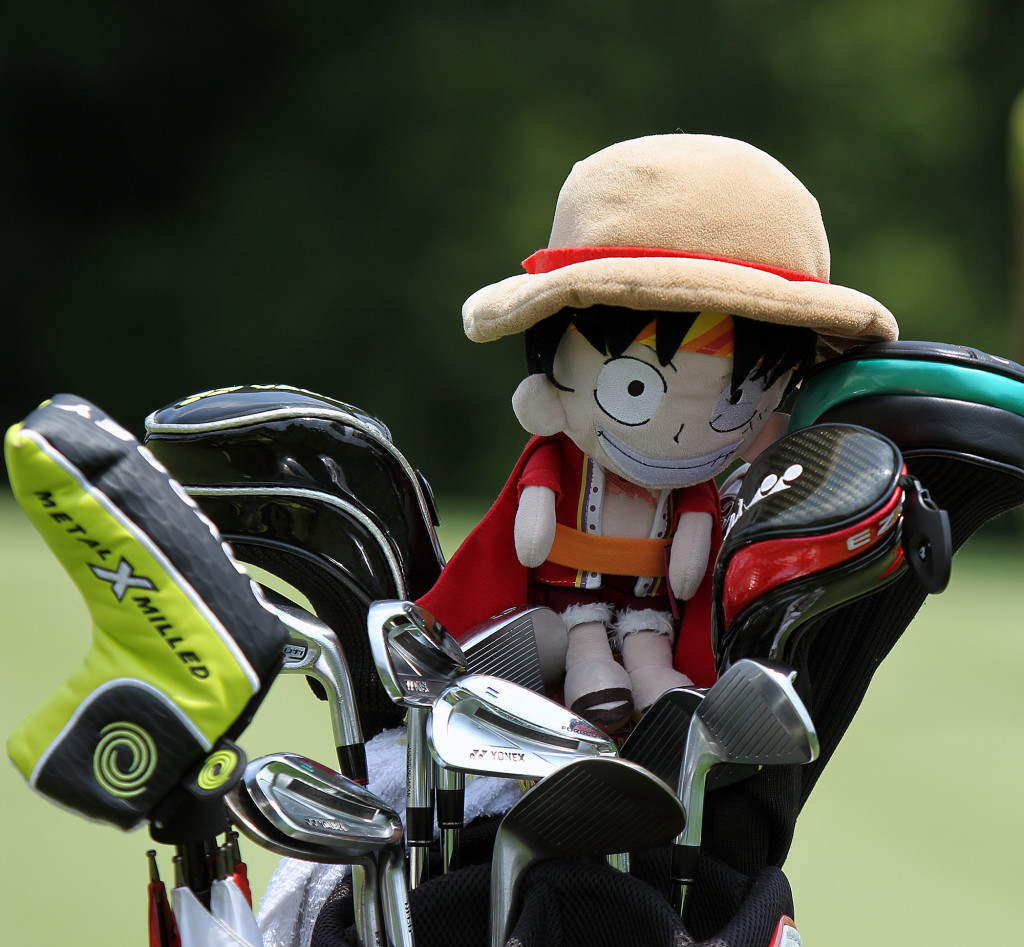 Driver cover for Hyo Joo Kim, during practice rounds of the 70th US Women's Open at Lancaster Country Club Tuesday July 7, 2015. (Photo/Chris Knight)