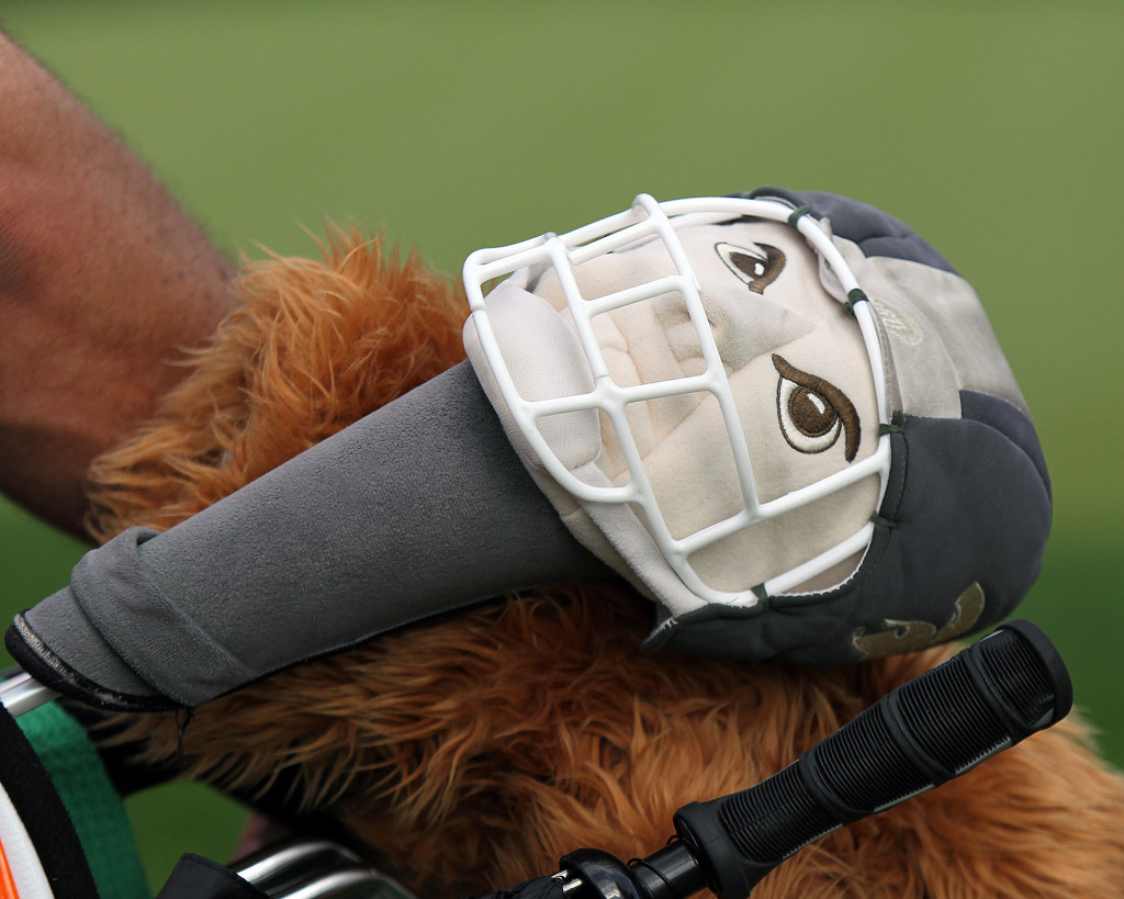 Driver cover for Elizabeth Nagel, during practice rounds of the 70th US Women's Open at Lancaster Country Club Tuesday July 7, 2015. (Photo/Chris Knight)